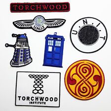 THE DOCTOR PATCH COLLECTION, Time - Lords - Agents... NEW WHO