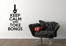 Modern twist on Keep Calm Royal quote funny wall decor vinyl Wall Stickers Decal