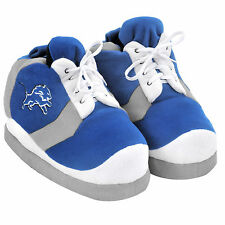 Lions SNEAKER SLIPPERS Colorblock - New - FREE USA SHIPPING - Detroit Lions