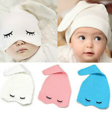 Fashion Baby Infant Kid Ears Eye Cotton Hat Toddlers Headwear Sleep Warm Hats