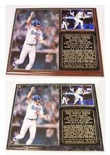 Kirk Gibson 1988 World Series Home Run Los Angeles Dodgers Photo Plaque