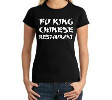 Fu King Chinese Adult Holy Juniors Funny Tee Asian Buffet Ninja Gag Gift T-Shirt