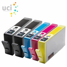 5 Compatible 364 Combo Pack Ink Cartridge Black Cyan Magenta Yellow SD534EE
