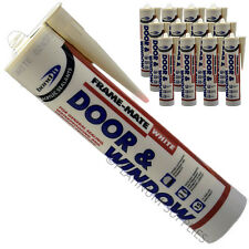 12X FRAME-MATE DOOR & WINDOW ACRYLIC FRAME SEALANT FILL CRACKS AND JOINTS