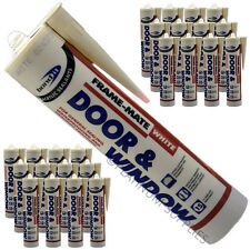 25X FRAME-MATE DOOR & WINDOW ACRYLIC FRAME SEALANT FILL CRACKS AND JOINTS