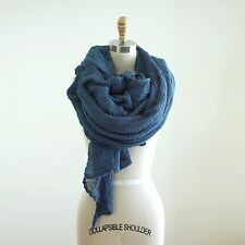 ScarfShop: Hand-dyed 100% Cotton Scarf, 5 sizes, 24 colors