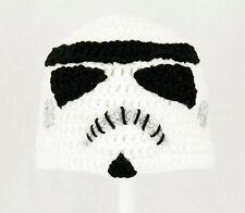 Storm Trooper Hat from Star Wars, Droid Knit / Crochet Beanie baby-adult