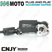 KIT BI-XENON HID H4-MOTO HI/LOW 35W PRISE PLUG AND PLAY & BALLAST QUICK START