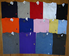 Polo Ralph Lauren New NWT CREWNECK Logo T Shirt Assorted Colors S M L XL XXL