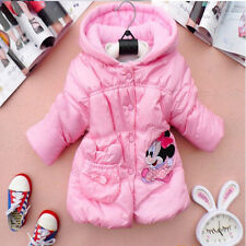 GIRLS MINNIE MOUSE WINTER JACKET -AGE 2-9 YEARS