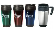 NEW INSULATED THERMAL TRAVEL COFFEE FLASK MUG REMOVABLE LID KEEP DRINK WARM