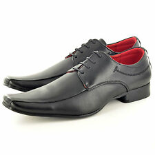 New Mens Italian Style Leather Lined Formal / Wedding Suit shoes UK Sizes 6-12