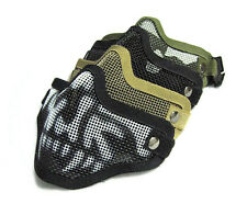 Paintball Airsoft Moto Bicycle Nylon Mesh Face Mask Tactical Equipment