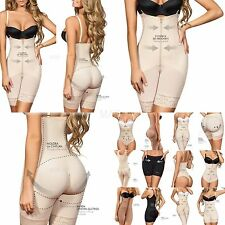 Slimming Braless Body Shaper with Thighs Slimmer,Straight Low back,Powernet 5051