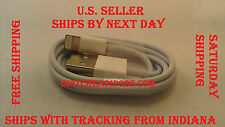 USB 8 PIN CHARGING CHARGER CABLE LEAD FOR iPHONE 5  iPOD HIGH QUALITY!!! LOT