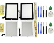 Touch Screen Glass Digitizer Replacement For iPad 2/3/4 Black/White +TOOL Kit US