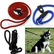 Large Pet Dog PUPPY Nylon Rope Training Leash slip Lead Strap Collar 1.5M 4Color