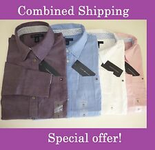 NWT Tommy Hilfiger Solid Long Sleeve Button Down Shirt For Women