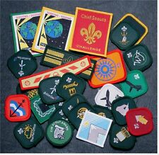 UK United Kingdom 80's -90's Scout /Cub Proficiency Award Badges - 24 Different