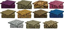 820 SAFARI COLLECTION DEEP POCKET 4 PIECE BED SHEET SET BY CLARA CLARK All Sizes