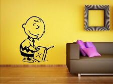 Banksy - Charlie Brown Firestarter - Vinyl Decal Wall Stickers Many colours. New
