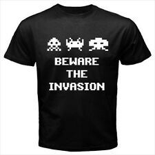 Space Invaders Game Beware New Mens T-Shirt S M L XL 2XL 3XL Cotton