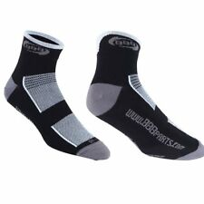 BBB TECHNOFEET Cycling Socks With Coolmax fibers Technology, White x Black
