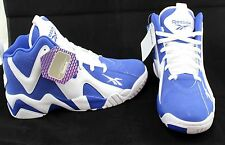 Reebok Men's KAMIKAZE II MID TEAM ROYAL/WHITE V61033 Basketball Shoes