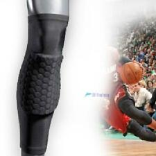 Honeycomb Pad Crashproof Antislip Basketball Leg Knee Long Sleeve Protector Gear