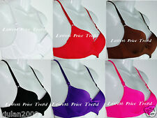 PLAIN DEMIS BRA, UNDERWIRE UNREMOVABLE STRAPS 32-44 A,B,C,D,DD CUP NEW BR9525P