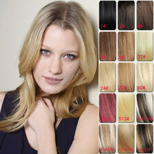 """High Recommend High Quality 14""""-30"""" 7pcs/set Clips in Real Human Hair Extensions"""