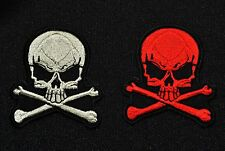 Skull & Cross bones Embroidered Patch
