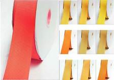 """Grosgrain Ribbon 38mm 1.5"""" width by 4 meters Yellow-Orange for bow"""