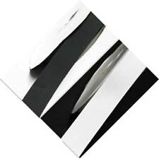"""Grosgrain Ribbon 63mm 2.5"""" by 4 meters white s Grey s Black s for caek docorate"""