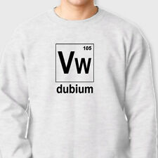VW DUBIUM 105 Beetle T-shirt Bug Volkswagon racing Crew Neck Sweatshirt