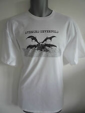 AVENGED SEVENFOLD LOGO MENS T-SHIRT HAIL TO THE KING, SEIZE THE DAY, METAL ROCK