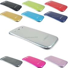 Brushed Aluminum Metal Battery Cover Door Case For Samsung Galaxy S 3 III i9300