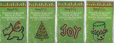 Mary Engelbreit CHRISTMAS Rhinestone Accent stickers~Several varieties~Cute!!