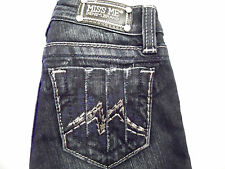 MISS ME LITTLE GIRLS KIDS SZ 7, 8,10,12,14  JEANS RHINESTONE METALLIC M SKINNY