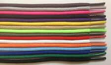 """Round Athletic Shoelaces 3/16"""" Width in 36"""" 45"""" 54"""" Lengths And 16 Colors"""