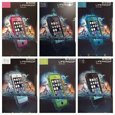 Authentic LifeProof Fre Case for Apple iPhone 5 / 5S Touch ID Waterproof 6 Color