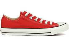 Converse All Star Ox Low M9696 Unisex Red Casual Classic Shoes