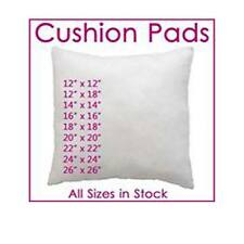 "Hollowfibre Cushion Pads, Inserts, Fillers, Inners  12"" 14""16""18""20"" 22"" 24"""