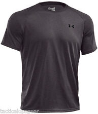 NEW MEN'S UNDER ARMOUR 1228539 TECH HEATGEAR T SHIRT LOOSE FIT TACTICAL CARBON