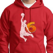 LeBron James Miami Heat Champion NBA King James 6 Dunk Hoodie Sweatshirt