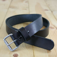 "Bullseye Leather Gun Holster Belt 1-1/2"" Heavy-Duty Bridle Leather"