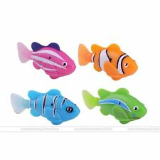 Swimming Robo Fish Activated Battery Powered Toy Childen Kids Robotic Pet Gift
