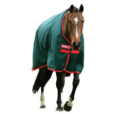 Rambo Original Heavy Weight Turnout Blanket - green/red