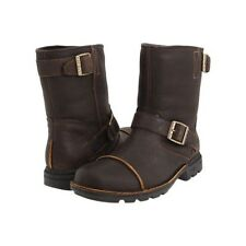 NIB UGG Australia ROCKVILLE II BROWN DUNE, CINNAMON LEATHER RIDING MEN BOOT 8, 9