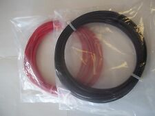2.5, 4.0, 6.0 & 10MM SQ TRI RATED POWER CABLE (WIRE) - RED & BLACK -1M LENGTH